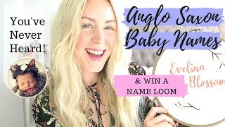 Rare Anglo-Saxon Baby Names You've Never Heard Before & GIVEAWAY | SJ STRUM
