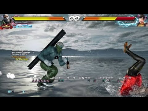 Tekken 7 Season 2 - Bryan Taunt Jet Upper Max Damage