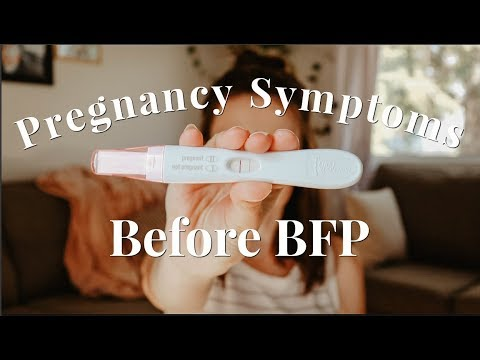 EARLY PREGNANCY SYMPTOMS | HOW I KNEW I WAS PREGNANT BEFORE A POSITIVE