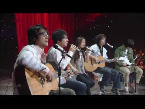 박정현,박학기,이세준,박승화 (Lena Park, Park Haki, Yurisangja) @ 2008.03.21 Live Stage