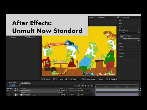 After Effects CC Unmult Is Now Built In
