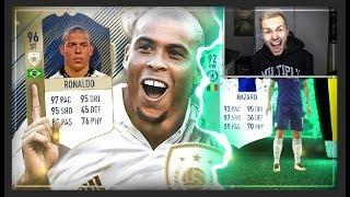 FIFA 18: 96 Ronaldo PRIME ICON + Fut Birthday PACK OPENING HYPE 😱
