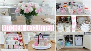 Huge Kitchen Declutter + Kitchen Organization Ideas   Mugs, Under Kitchen Sink, Drawer Organization