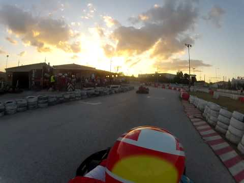 F1 Fans Kart Championship Athens Race 6 Reverse Track