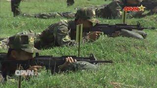 Bắn trình diễn súng bộ binh thế hệ mới Galil ACE do Việt Nam sản xuất