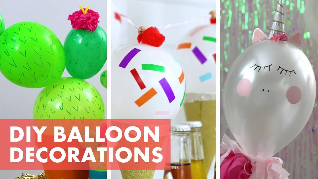 3 DIY Balloon Party Decor Ideas - HGTV Handmade