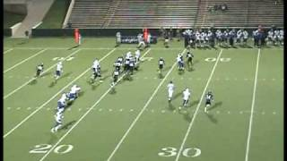 BAYLEN LAURY RB/WR/KR #2 SOUTHEASTERN OKLAHOMA ST. UNIVERSITY 2009 JR HIGHLIGHTS