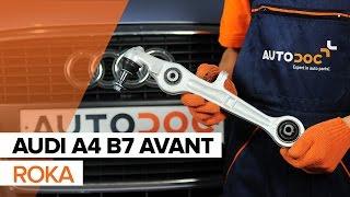 Kako zamenjati Vilica AUDI A4 Avant (8ED, B7) - spletni brezplačni video