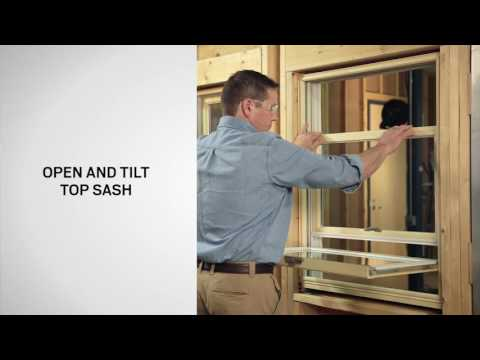 Wash Assist/Tilt Latch Replacement on 400 Series Woodwright Double-Hung Windows | Andersen Windows