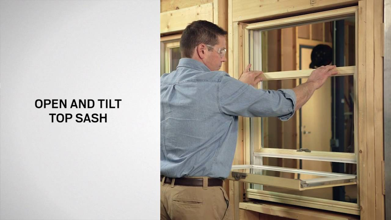 Wash Ist And Tilt Latch Replacement On Andersen 400 Series Woodwright Double Hung Windows