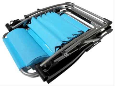 Strathwood Basics Anti-Gravity Adjustable Recliner Chair Ca
