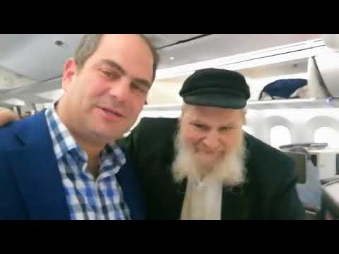 Man's Life Saved On El Al Flight By United Hatzalah President Eli Beer