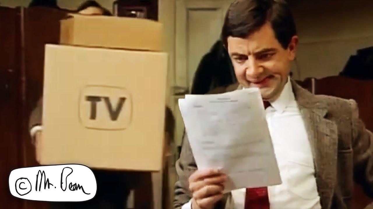 BEAN'S New TV For The Lockdown | Mr Bean Funny Clips | Mr Bean
