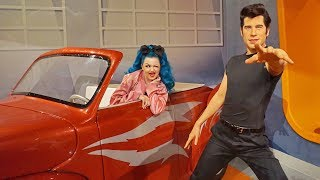 Dancing With The Stars at Madame Tussaud - Greased Lightning