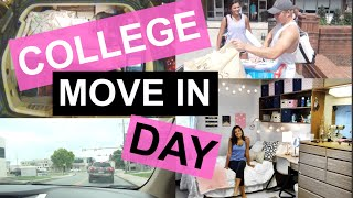 COLLEGE MOVE IN DAY | BiancaCelinexo♡