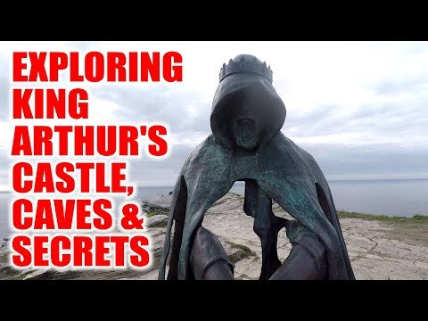Exploring King Arthur's Castle - Tunnels and Caves Found