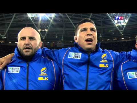 France v Romania Rugby World Cup 2015