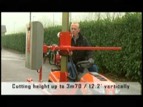 Hedge Trimmer On Lawn Mower By Cochet