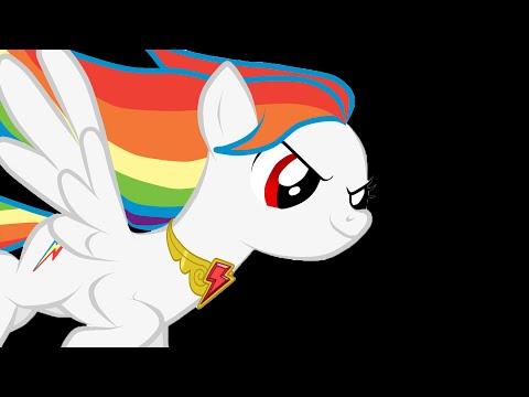 Animation Super Rainbow Dash