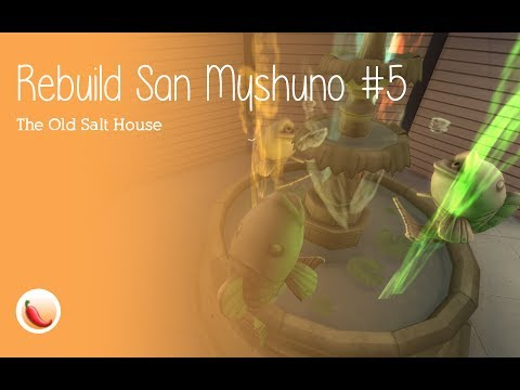 Rebuild San Myshuno #5 l The Old Salt House