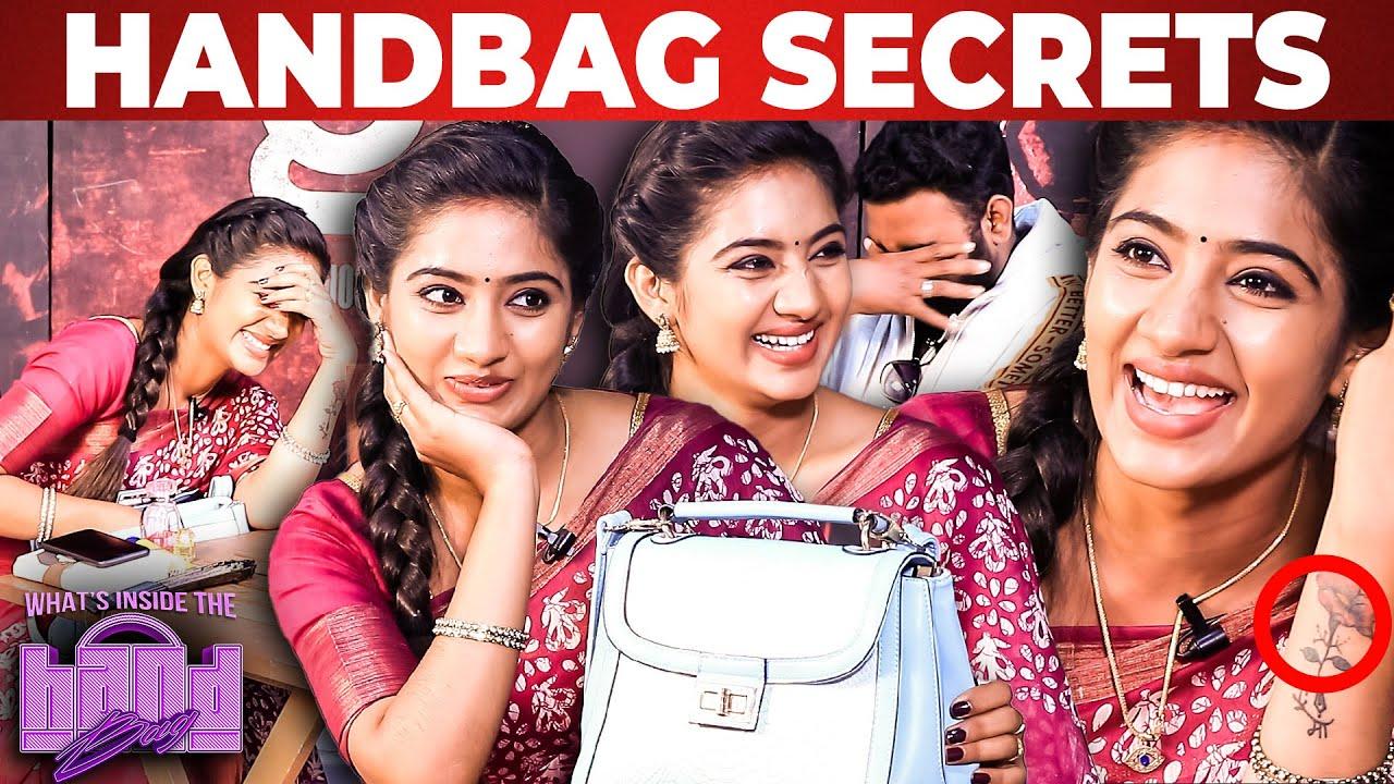 Download Ashiq இனிமேல் Handbag நோண்டுறத விட்ருங்க.,😂 | Actress Bindhu Hima Handbag Secrets Revealed |ColorsTV