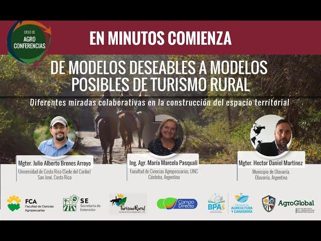 8° Agroconferencia sobre Turismo rural - AgroGlobal