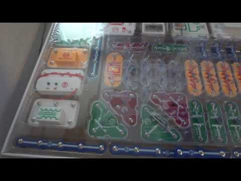 snap circuits light up science kit sku 728685 hearthsong youtube rh youtube com