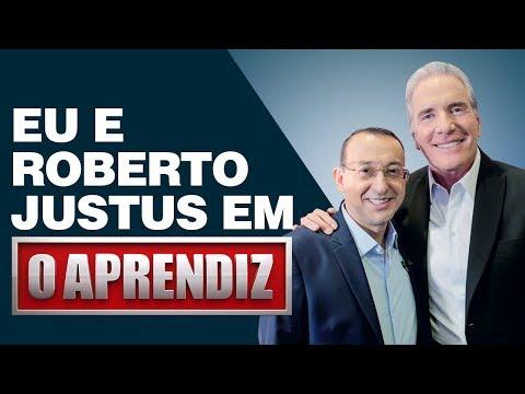 Roberto Justus e eu juntos pela 1ª vez no programa O Aprendiz | José Roberto Marques