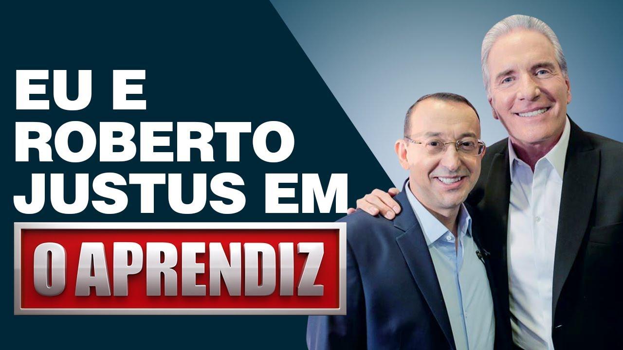 Roberto Justus E Eu Juntos Pela 1ª Vez No Programa O Aprendiz José Roberto Marques