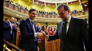 Pedro Sanchez becomes new Spanish PM as Rajoy gets forced out of office