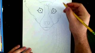 """How to Draw """"Blue Dog."""""""