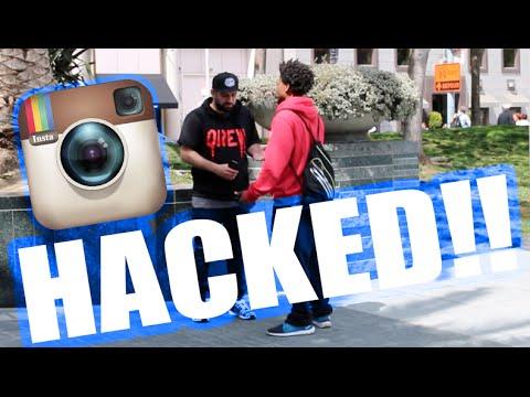 HACKING PEOPLES INSTAGRAM PRANK! - YouTube