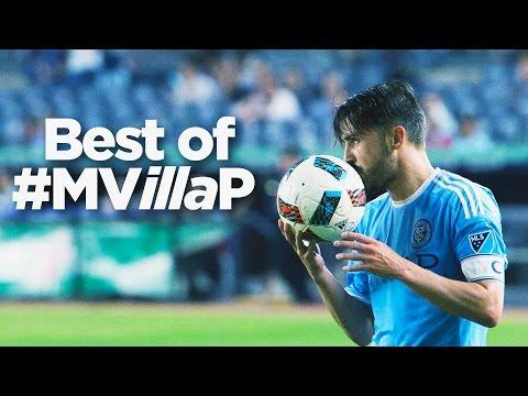 #MVillaP | Best of David Villa in 2016