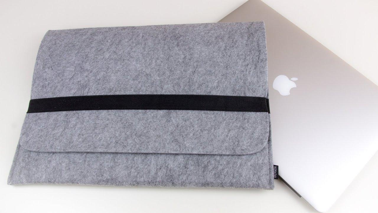 review macbook pro retina 15 13 und air sleeve aus filz notebook tasche h lle 5mm stark im. Black Bedroom Furniture Sets. Home Design Ideas