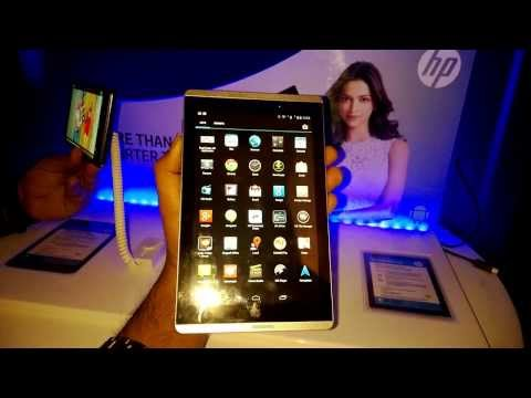 HP Slate 7 VoiceTab- Hands On