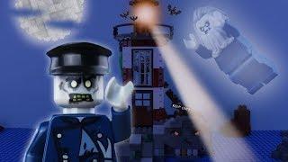 LEGO Halloween Haunted Lighthouse STOP MOTION LEGO Halloween Monster Island   LEGO   By Billy Bricks