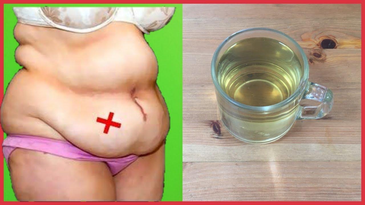 Bebí esto y mi viente gordo bajo durante 3 días y la grasa del vientre se derretirá