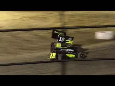 Joshua Gentry 12G Grayson County Speedway Restricted A-Feature 4-14-18 5th Place