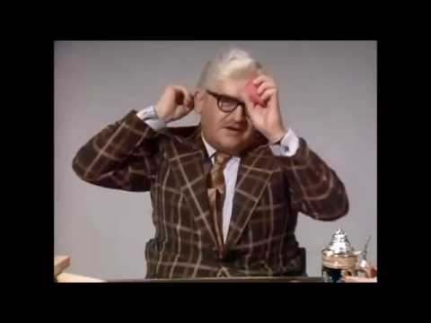 HILARIOUS The Two Ronnies - Thingummy - Memory Man sketch