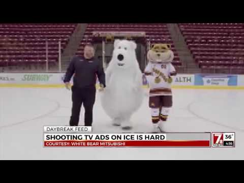Thumbnail: SHOOTING A TV AD ON ICE IS HARD! - DAYBREAK FEED 1/5/2017