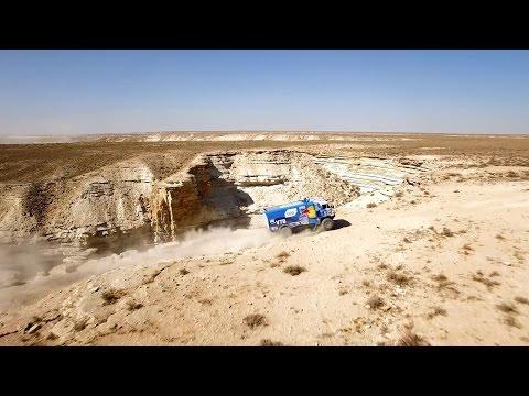 Teaser Kamaz-master Dakar 2016