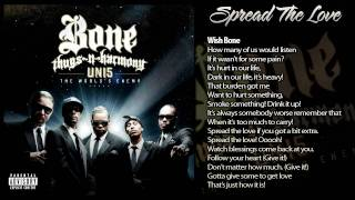 "Bone Thugs-N-Harmony ""Spread The Love"" [W/Lyrics]"