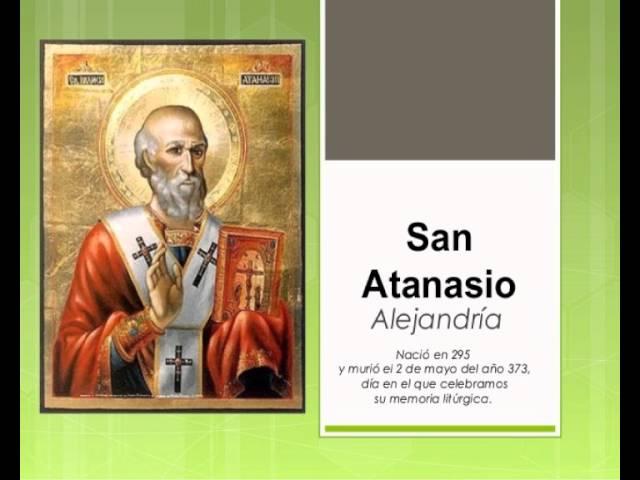 santoral 2 de Mayo ,San Atanasio