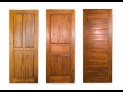How To Build Wood Doors - YouTube