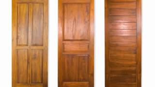 How To Build Wood Doors