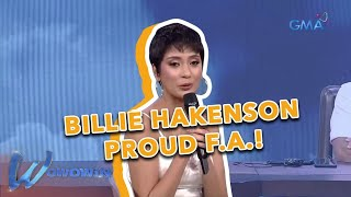Wowowin: Billie Hakenson, isang proud flight attendant!