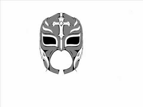 Rey mysterio mask design