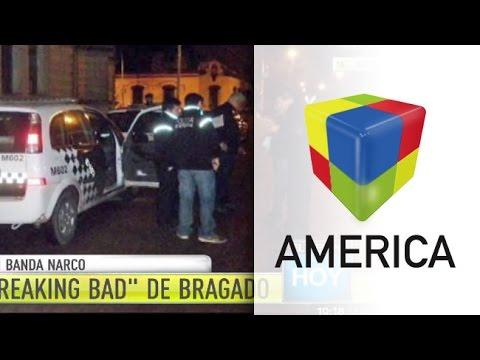 """Cayó la banda de los """"Breaking Bad"""" de Bragado"""