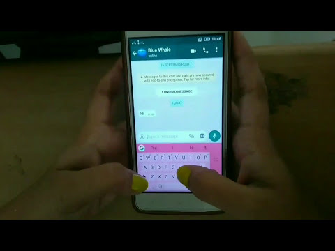 When blue whale chooses Indian girl