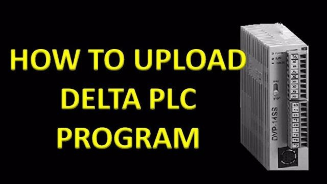 HOW TO UPLOAD DELTA PLC PROGRAM